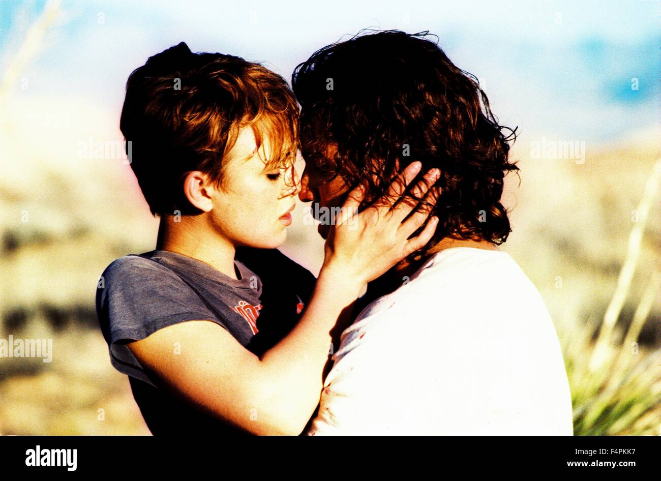 Keira Knightley and Edgar Ramirez / Domino / 2005 directed by Tony Scott [New Line Cinema] - Stock Image