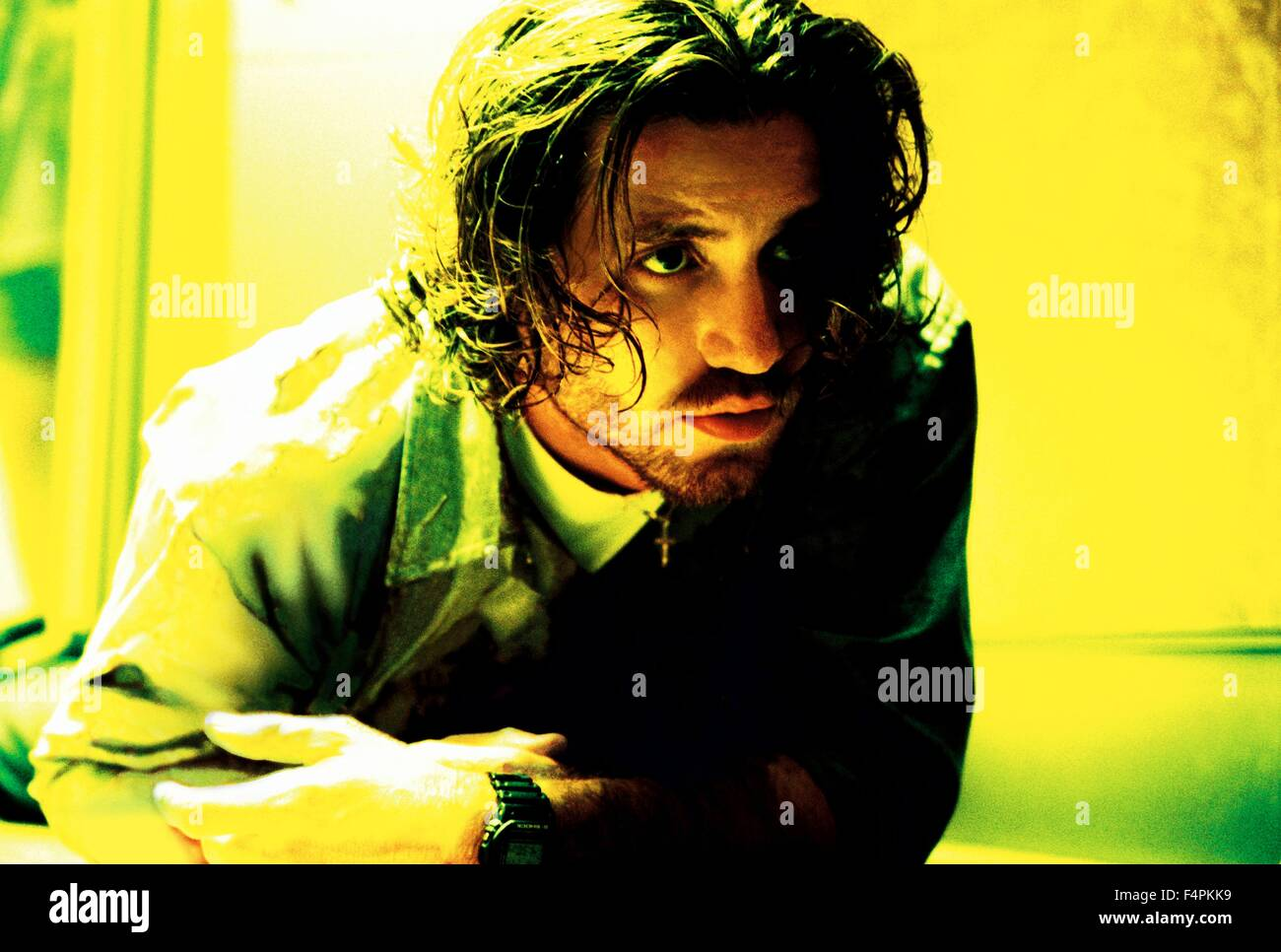 Edgar Ramirez / Domino / 2005 directed by Tony Scott [New Line Cinema] - Stock Image