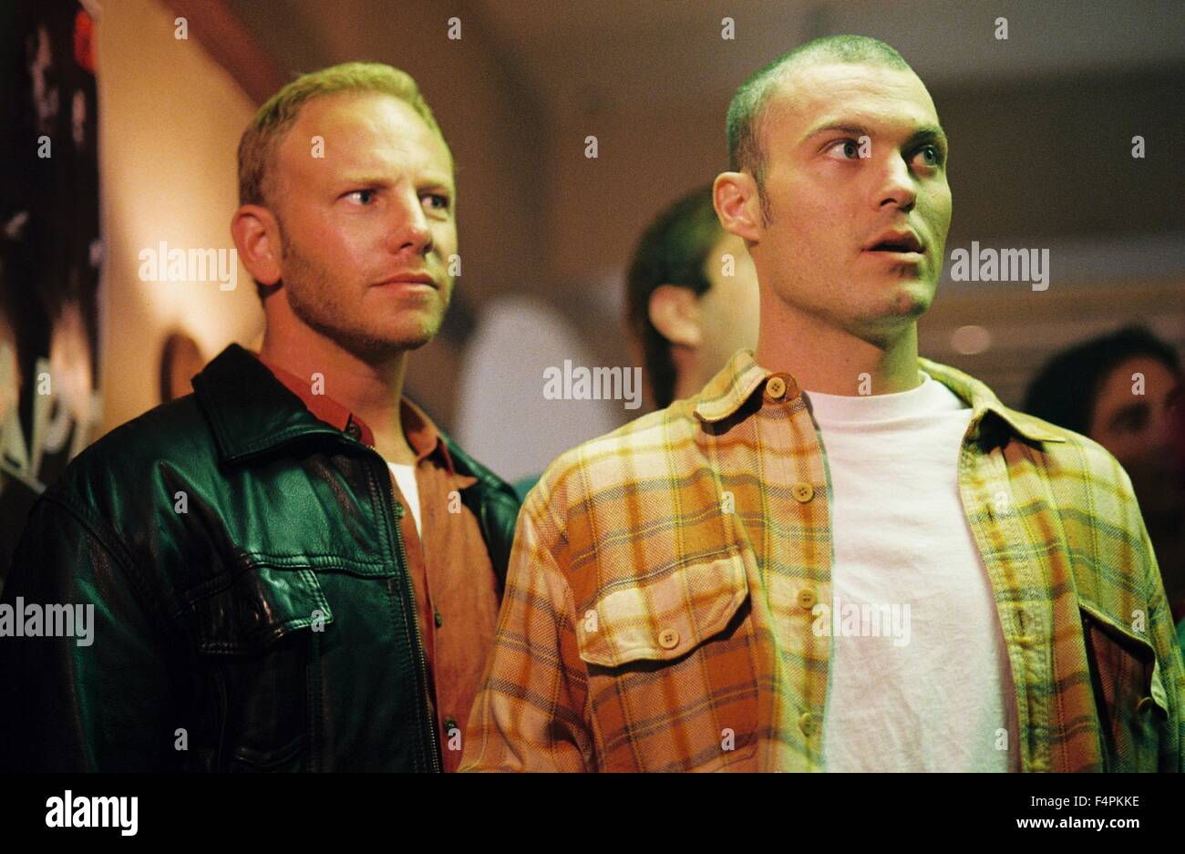 Ian Ziering and Brian Austin Green / Domino / 2005 directed by Tony Scott [New Line Cinema] - Stock Image