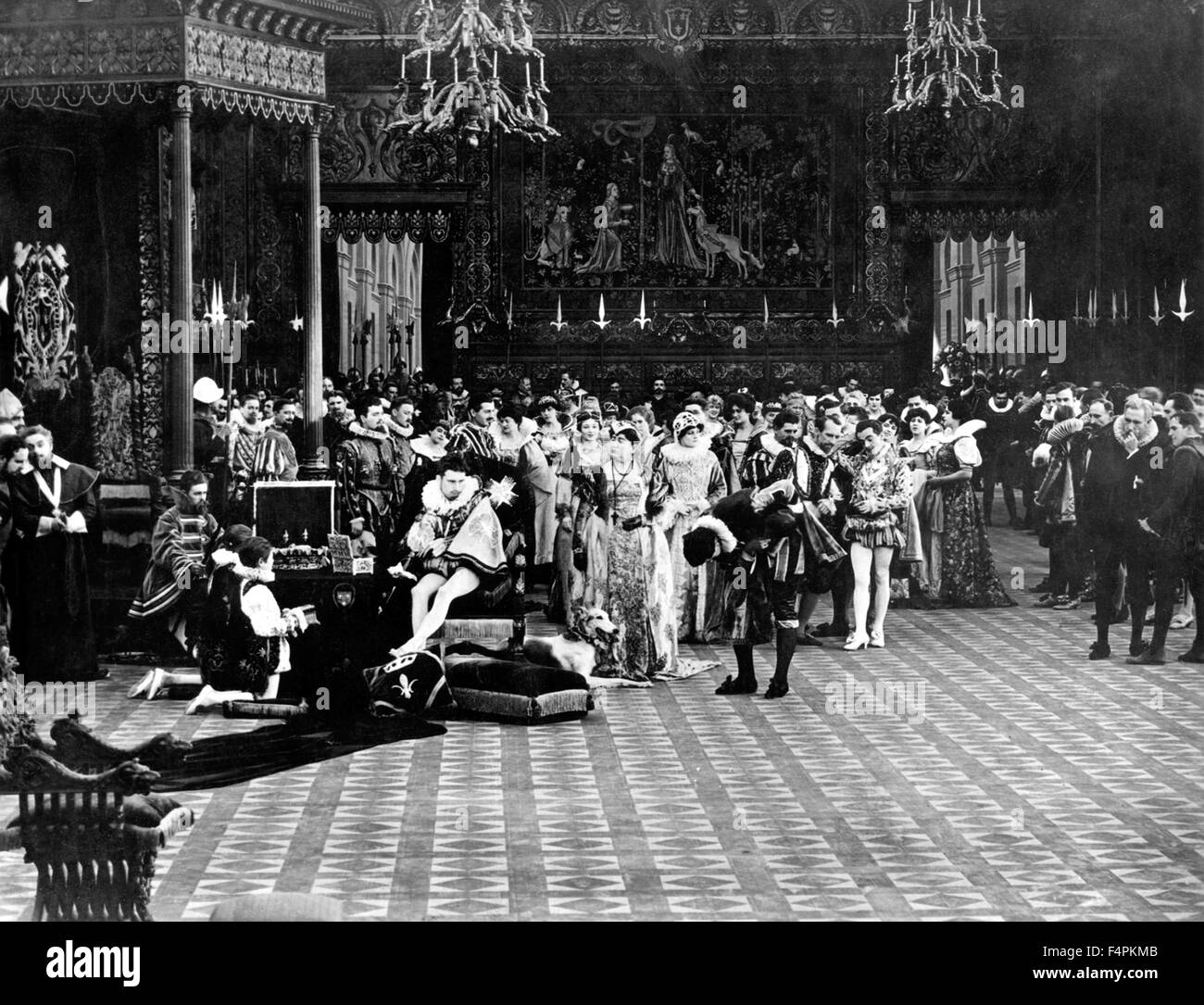 Intolerance: Love's Struggle Throughout the Ages / 1916 directed by D.W. Griffith [Triangle Distributing] - Stock Image