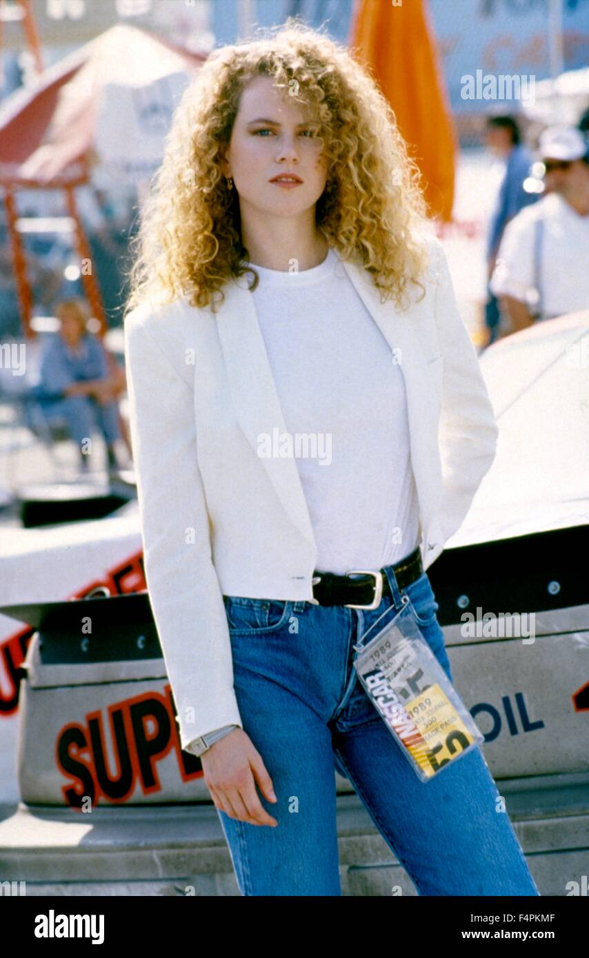 Nicole Kidman / Days of Thunder / 1990 directed by Tony Scott [Paramount Pictures] - Stock Image
