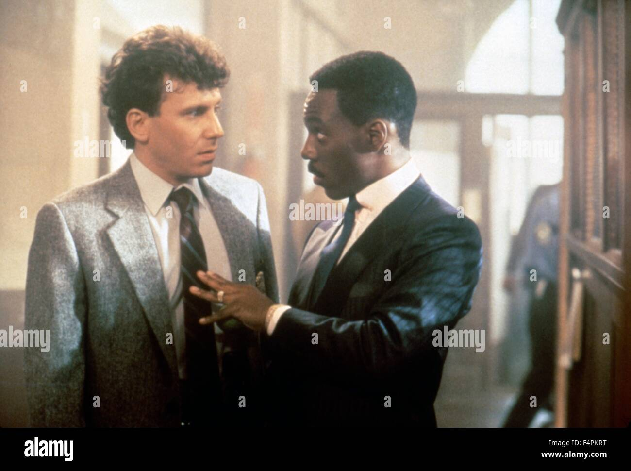 Paul Reiser and Eddie Murphy / Beverly Hills Cop II / 1987 directed by Tony Scott   [Paramount Pictures] - Stock Image