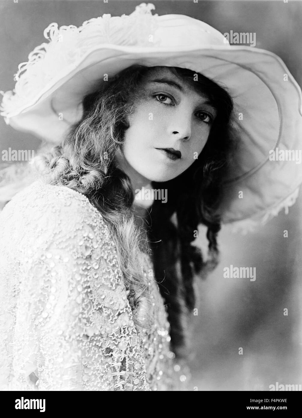 Lillian Gish in the 10's - Stock Image