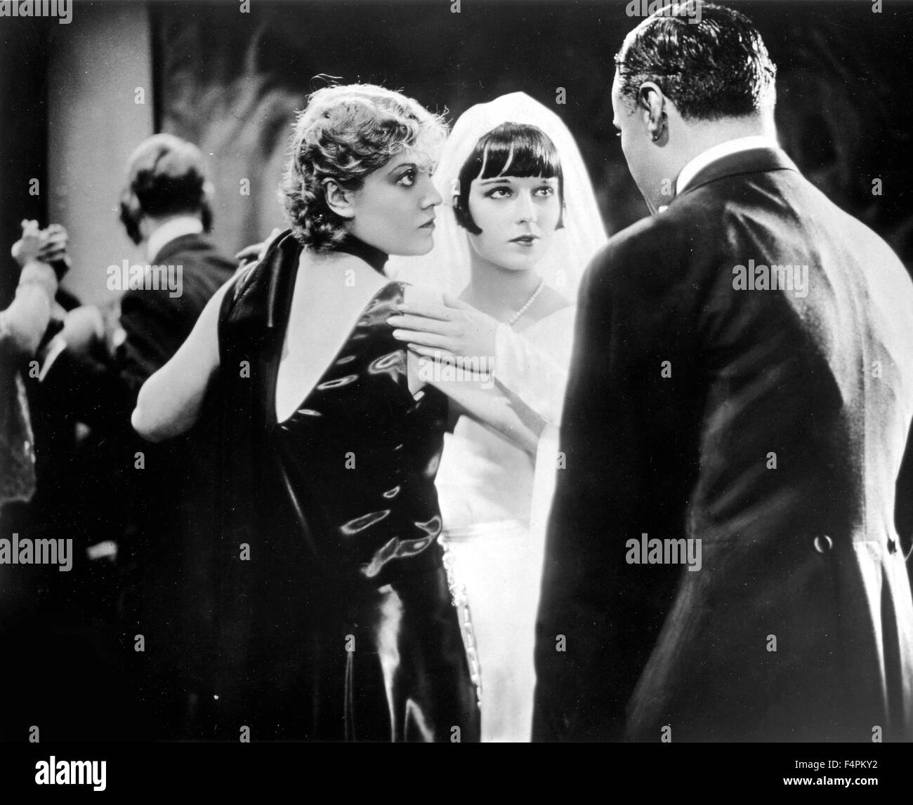 Alice Roberts and Louise Brooks / Pandora's Box / 1929 directed by Georg Wilhelm Pabst  [Nero-Film AG / Moviegraphs] - Stock Image