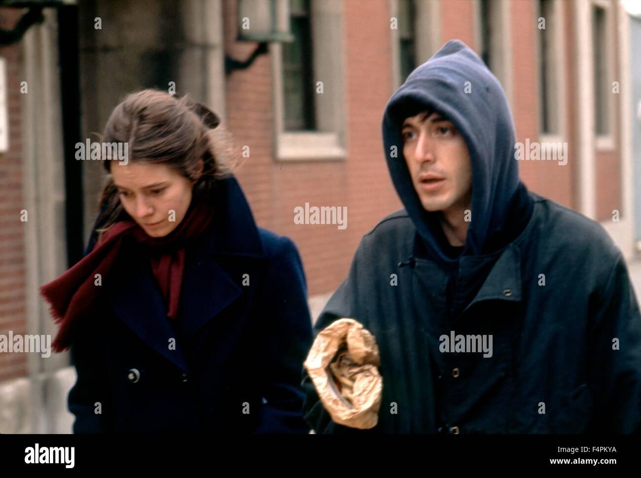 Kitty Winn and Al Pacino / The Panic in Needle Park / 1971 directed by Jerry Schatzberg [Twentieth Century Fox Film Stock Photo