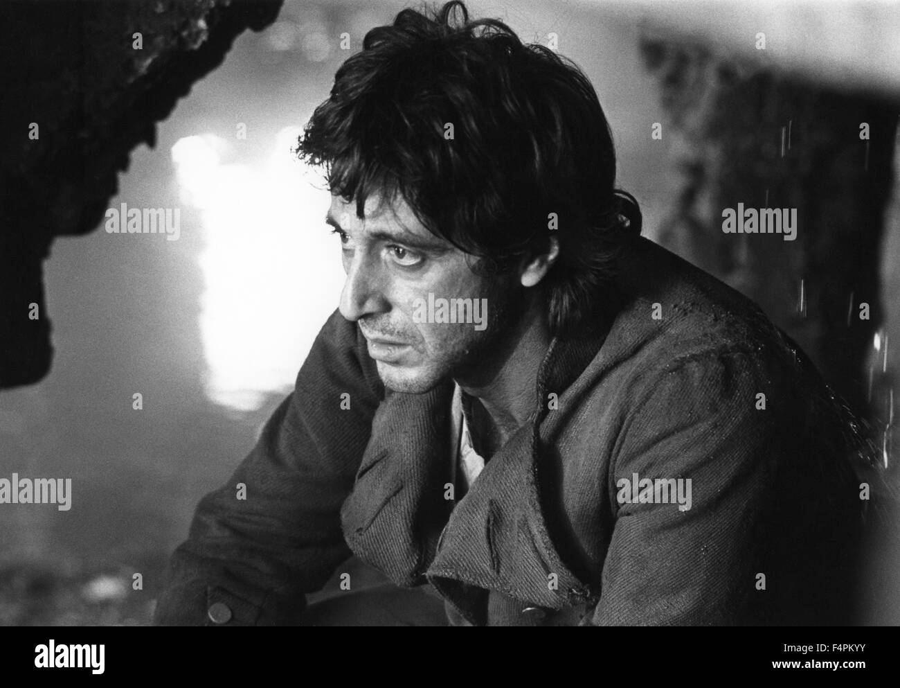 Al Pacino / Revolution / 1985 directed by Hugh Hudson   [Warner Bros. Pictures] Stock Photo