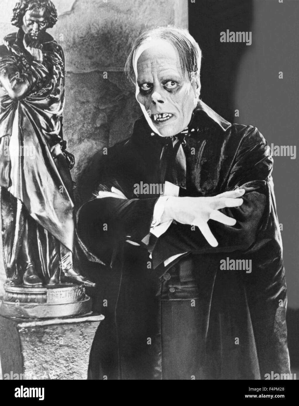 Lon Chaney / The Phantom of the Opera / 1925 directed by Rupert Julian and Lon Chaney [Universal Pictures] - Stock Image