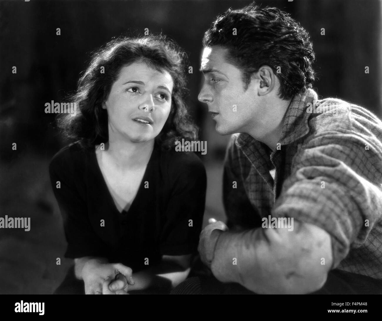 Janet Gaynor and Charles Farrell / 7th Heaven / 1927 directed by Frank Borzage /  [Fox Film Corporation] - Stock Image