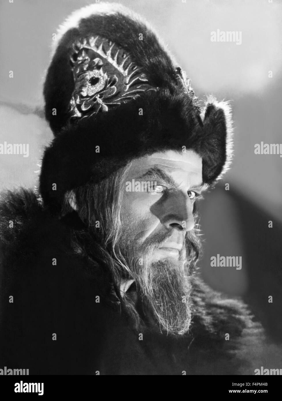 Nikolai Cherkasov / Alexandre NevskiI / 1966 directed by Andrey Tarkovskiy [Mosfilm] - Stock Image