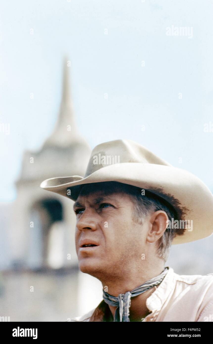 Steve McQueen / The Magnificent Seven / 1960 directed by John Sturges [United Artists] - Stock Image