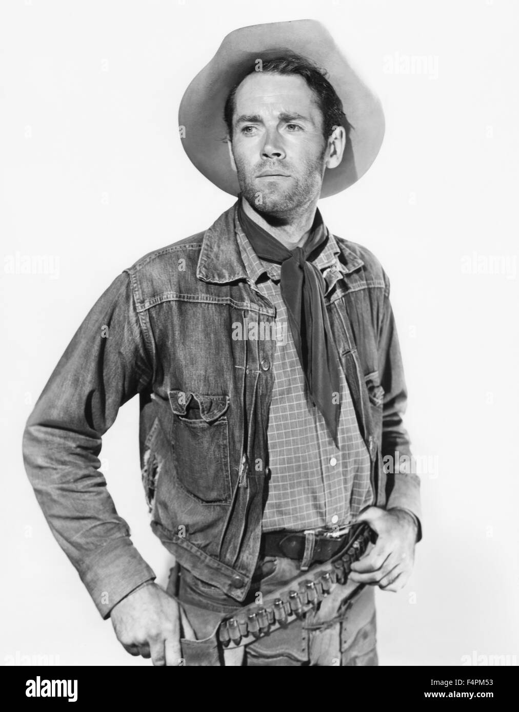 Henry Fonda / The Ox-Bow Incident / 1943 directed by William A. Wellman [Twentieth Century Fox Film Corpo] - Stock Image