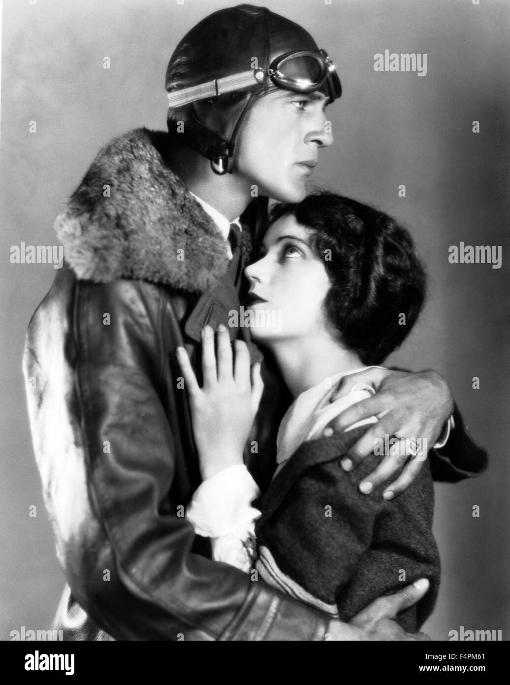 Fay Wray and Gary Cooper / The Legion of the Condemned / 1928 directed by William A. Wellman [Paramount Pictures] - Stock Image