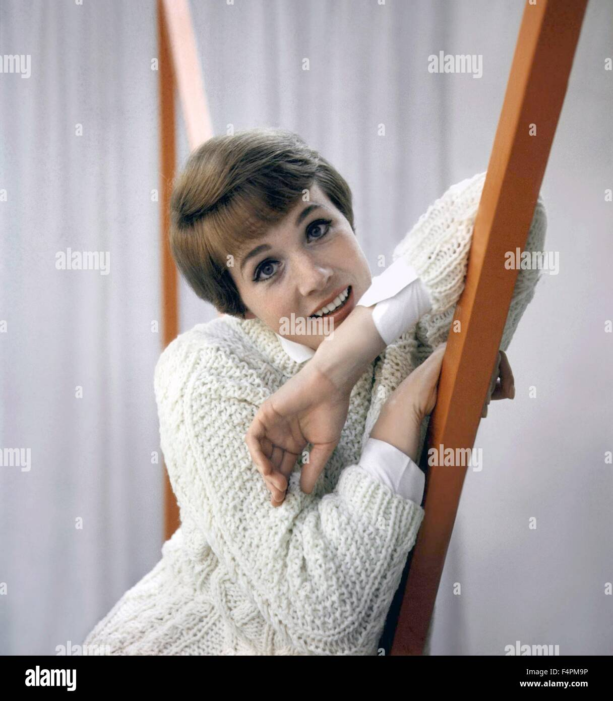 Julie Andrews in the 60's - Stock Image