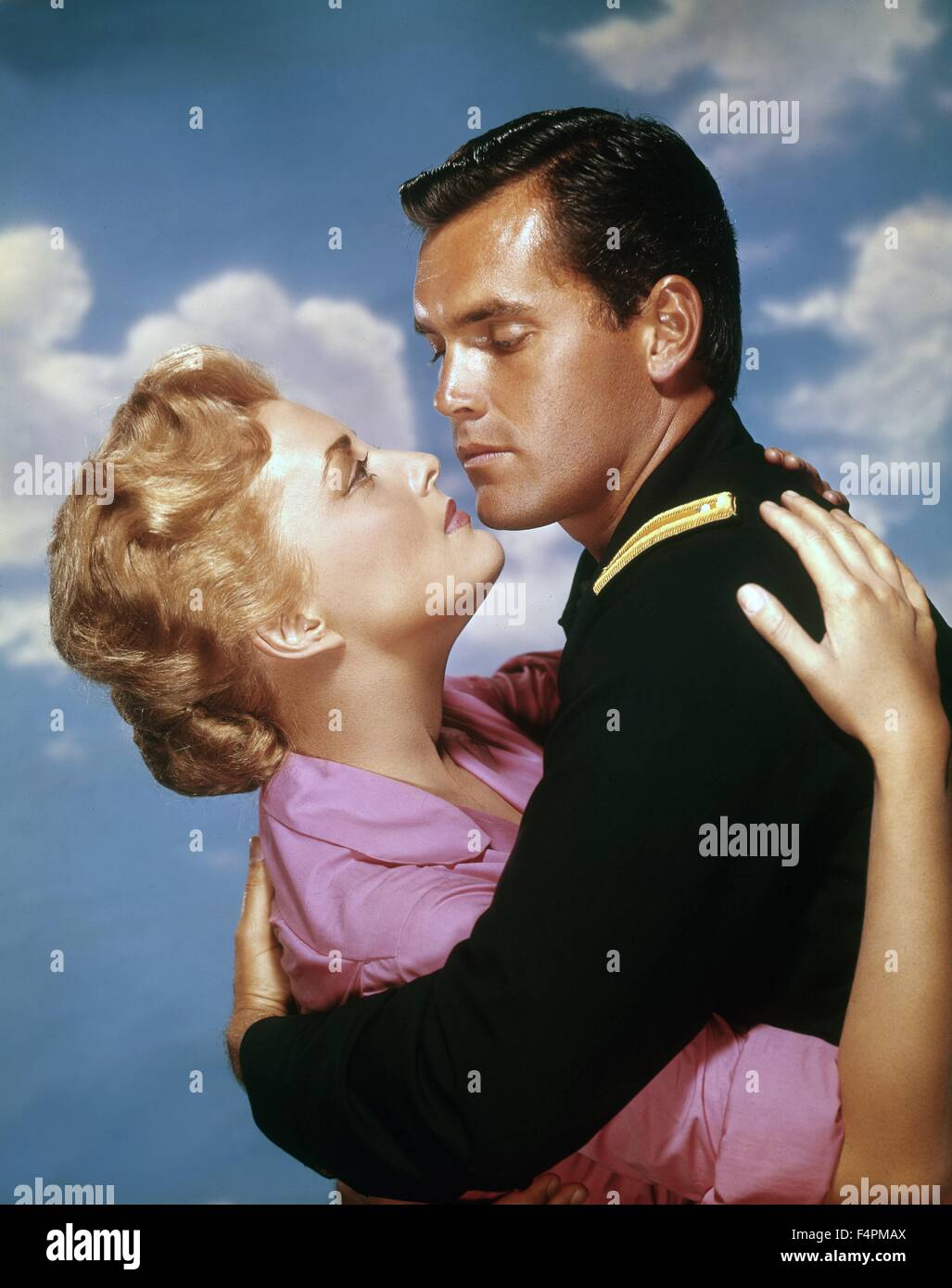 Constance Towers and Jeffrey Hunter / 1960 directed by John Ford  [Warner Bros. Pictures] - Stock Image