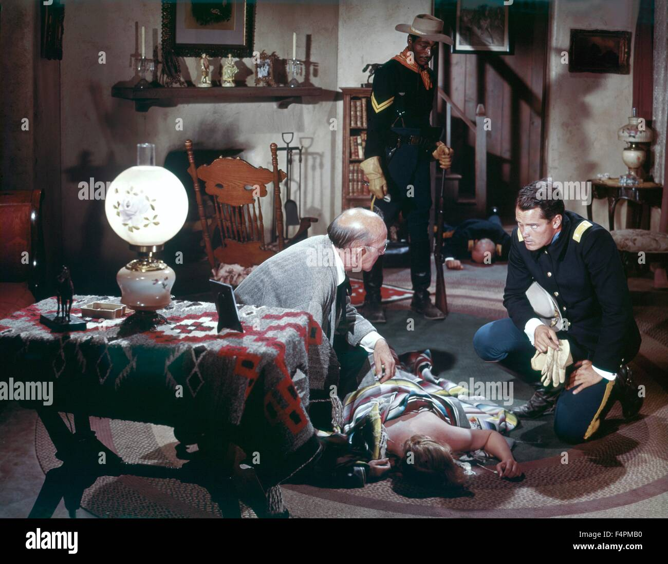 Jeffrey Hunter / 1960 directed by John Ford  [Warner Bros. Pictures] - Stock Image