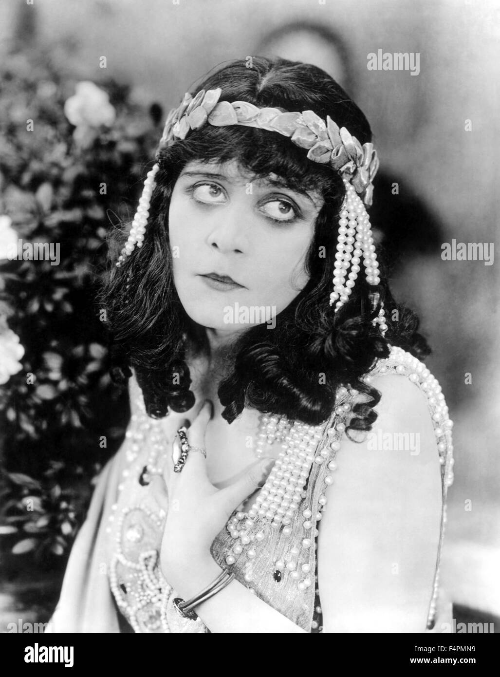 Theda Bara / Salome / 1918 directed by J. Gordon Edwards   [Fox Film Corporation] - Stock Image