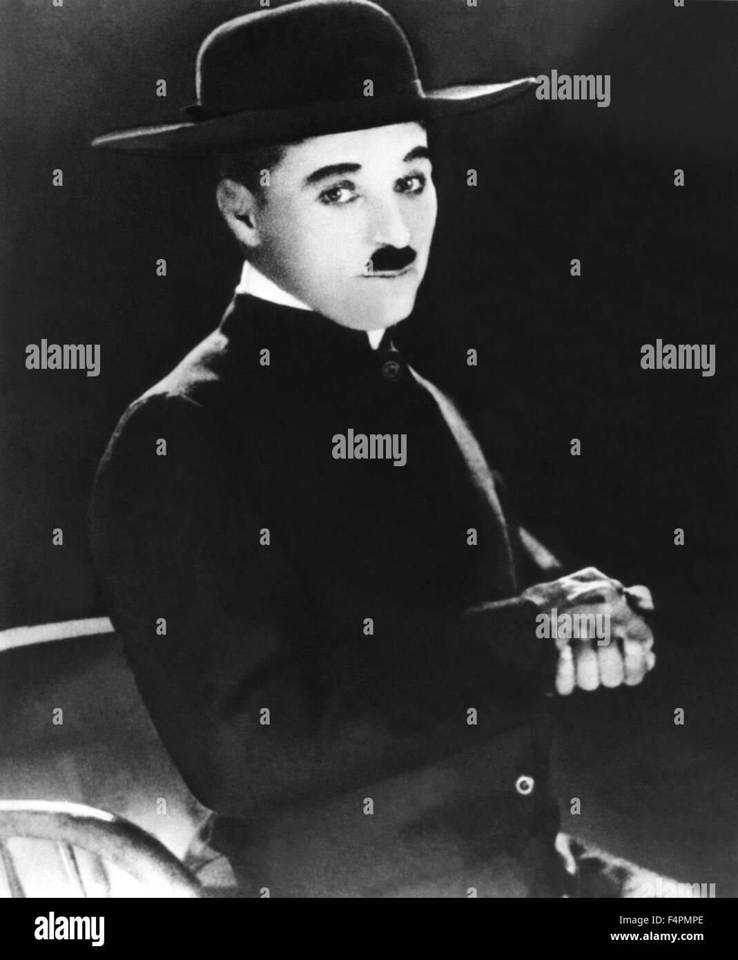 Charles Chaplin / The Pilgrim / 1923 directed by Charles Chaplin [Associated First National Pictut] - Stock Image