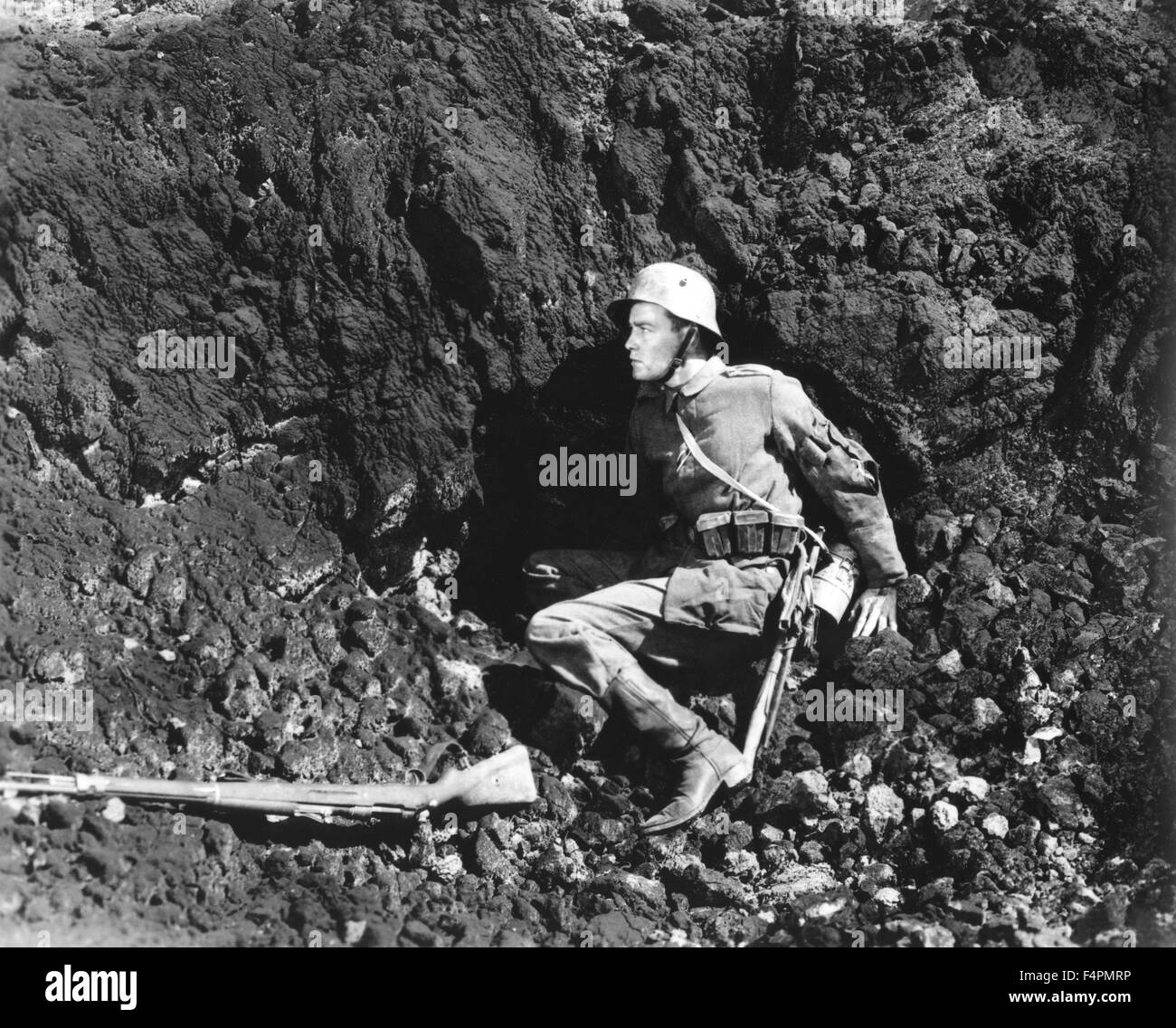 Lew Ayres / All Quiet on the Western Front / 1930 directed by Lewis Milestone [Universal Pictures] - Stock Image