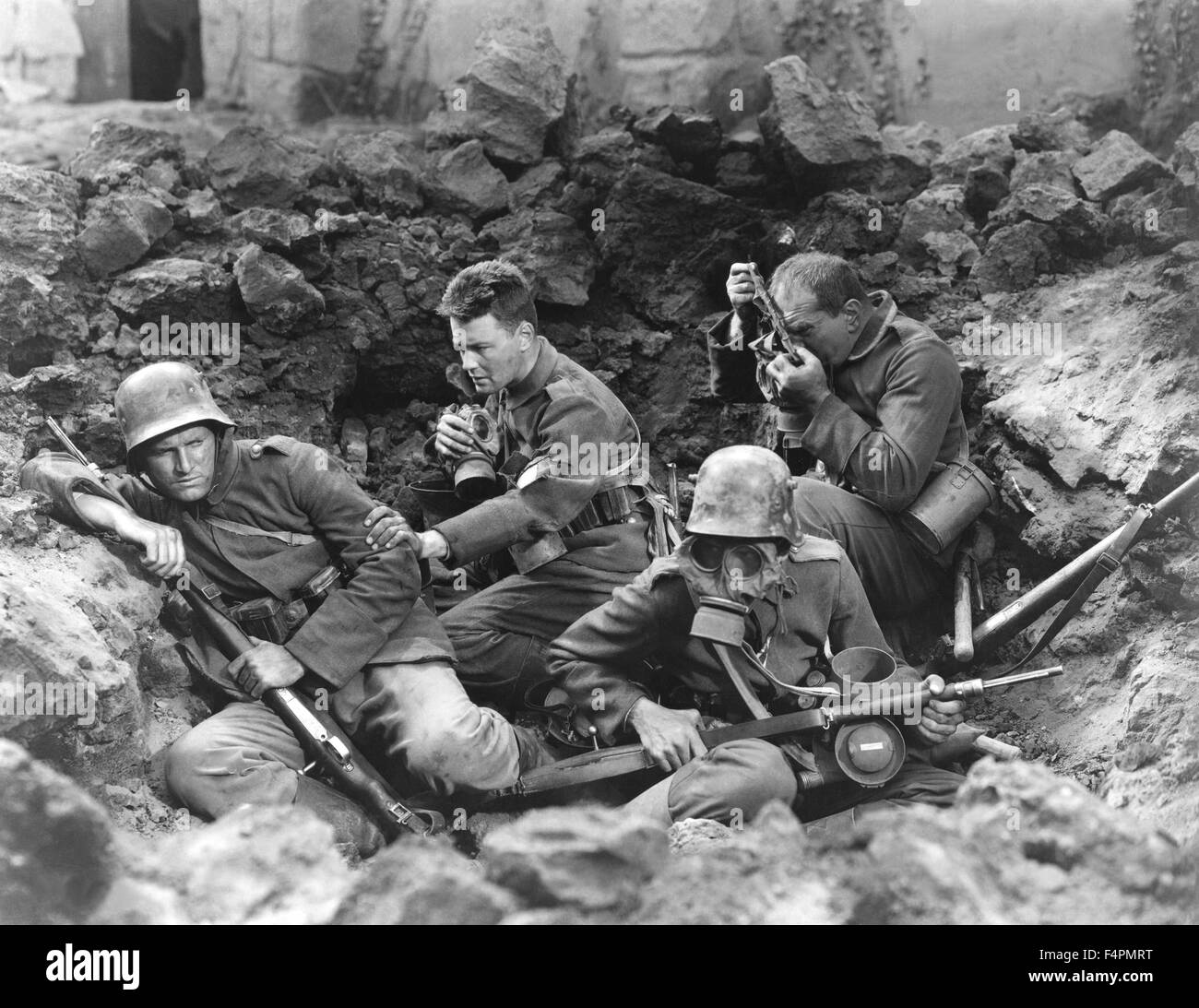 All Quiet on the Western Front / 1930 directed by Lewis Milestone [Universal Pictures] - Stock Image