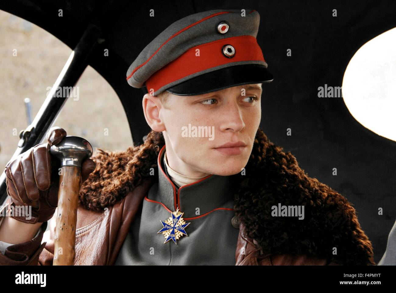 Matthias Schweighöfer / The Red Baron / 2008 directed by Nikolai Müllerschön  [Niama Film] - Stock Image