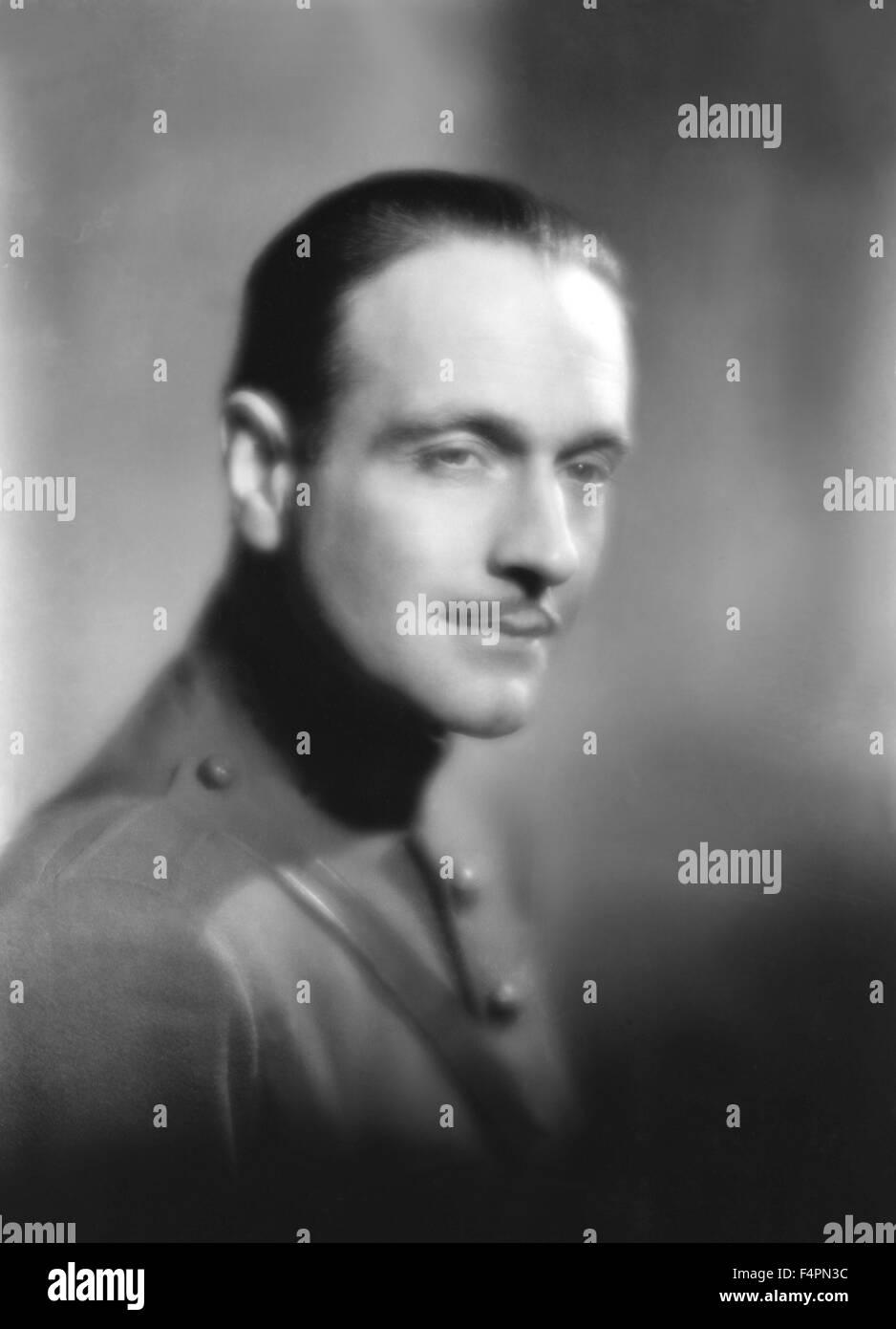 Pierre Fresnay / La grande illusion / 1937 directed by Jean Renoir - Stock Image