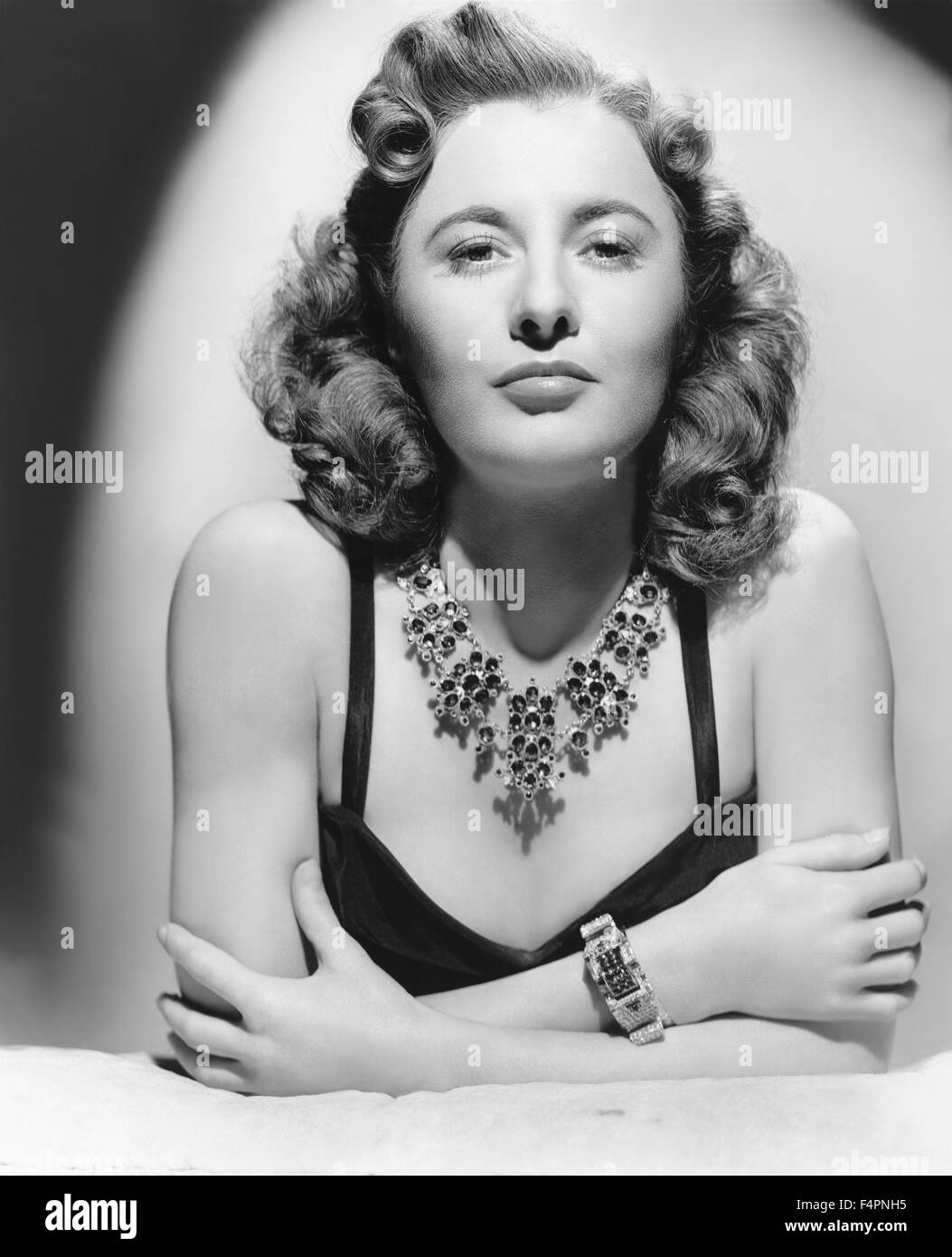 Barbara Stanwyck, 1942 [Warner Bros. Pictures] - Stock Image