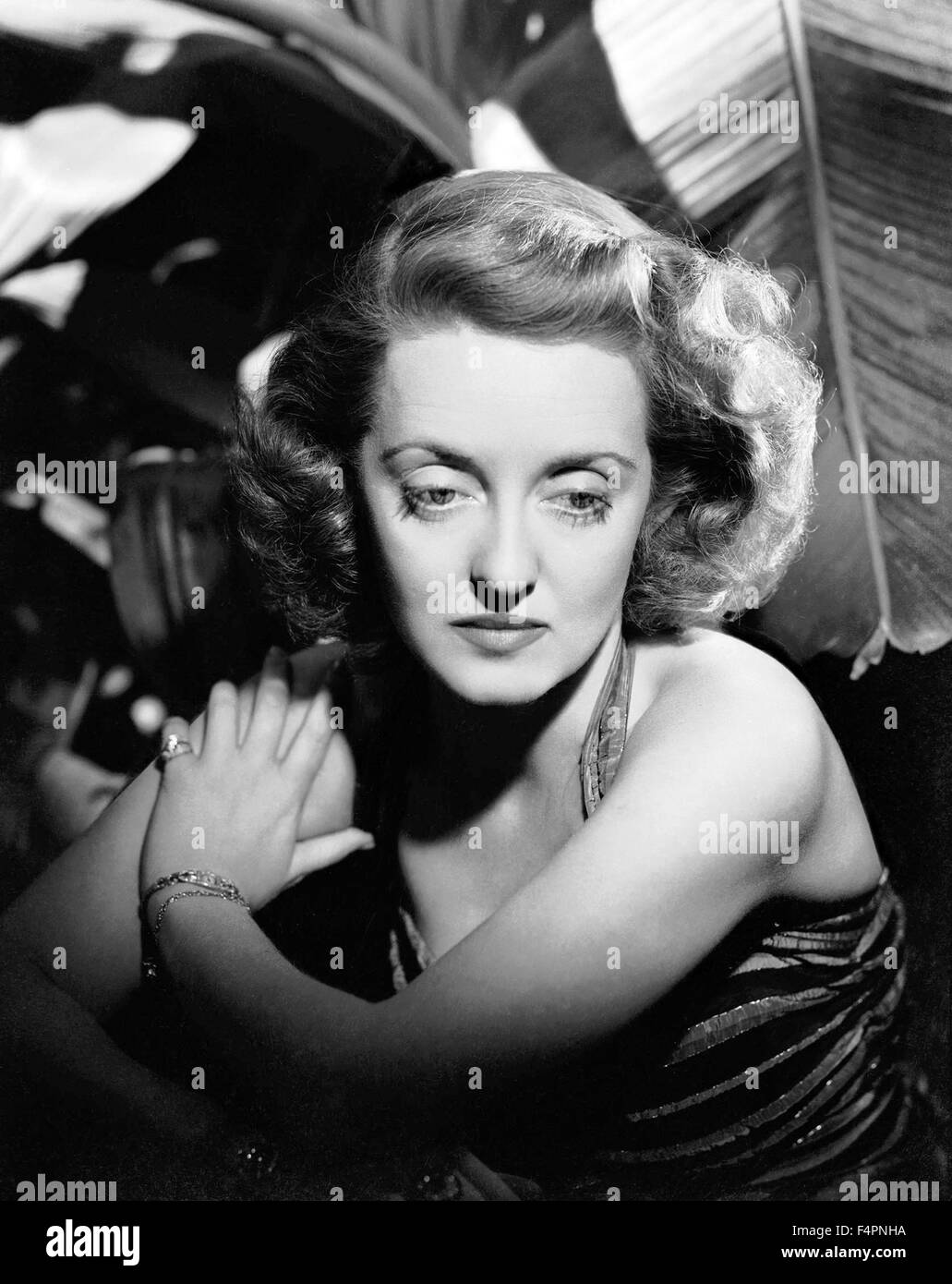 Bette Davis in the 30's - Stock Image