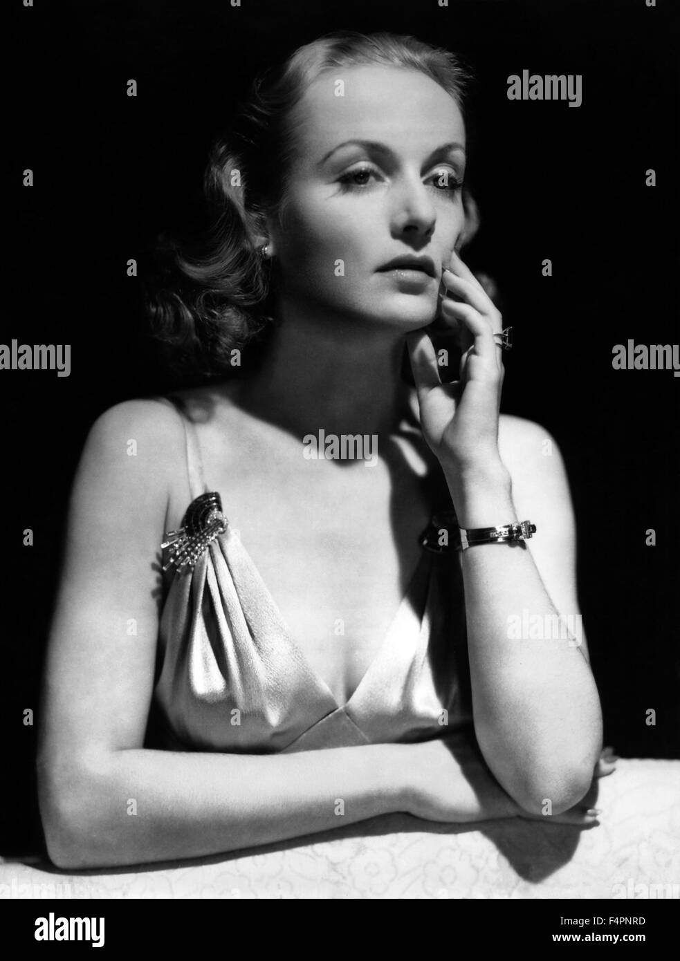 Carole Lombard in the 30's - Stock Image