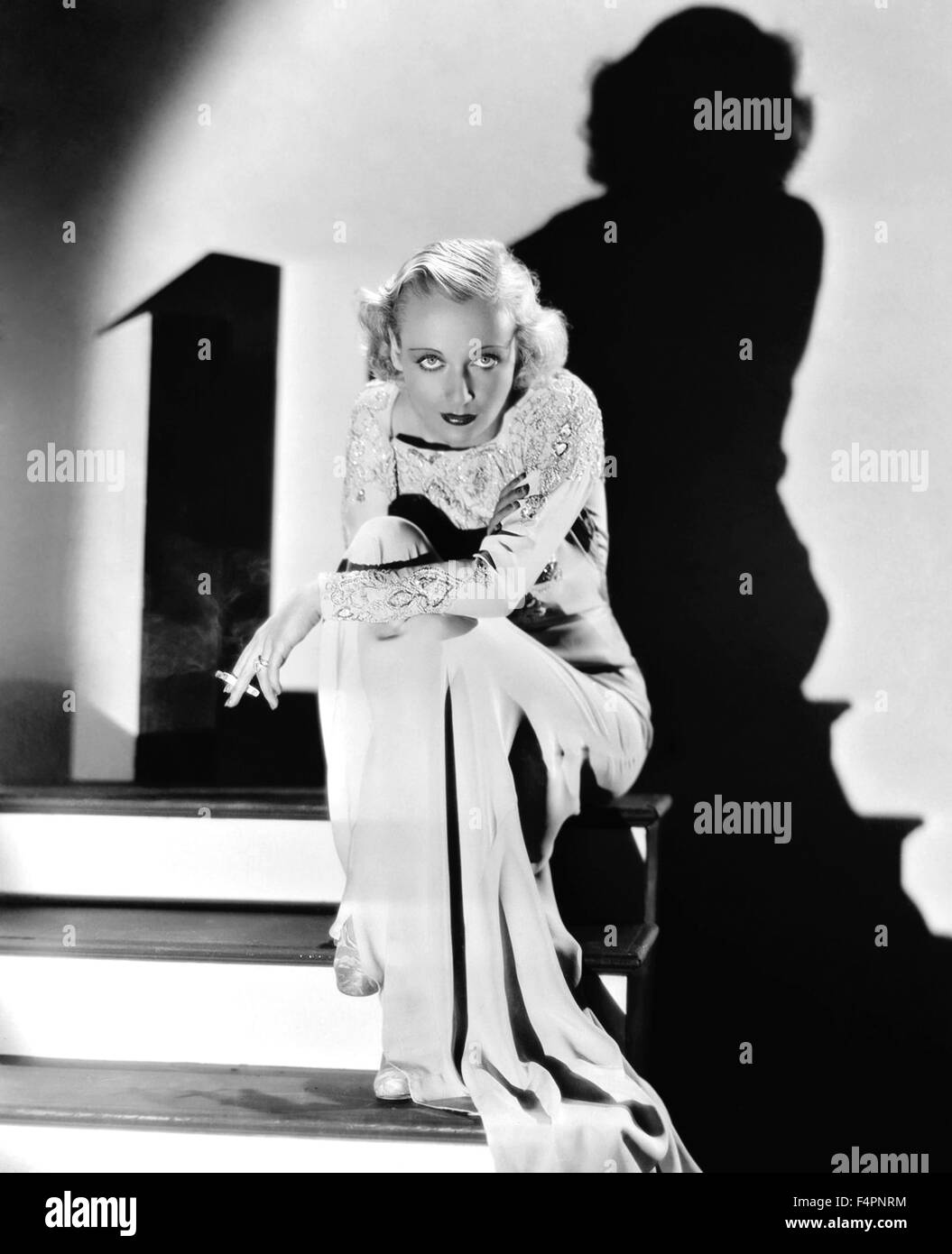 Carole Lombard, 1931 (Photo by Otto Dyer) - Stock Image