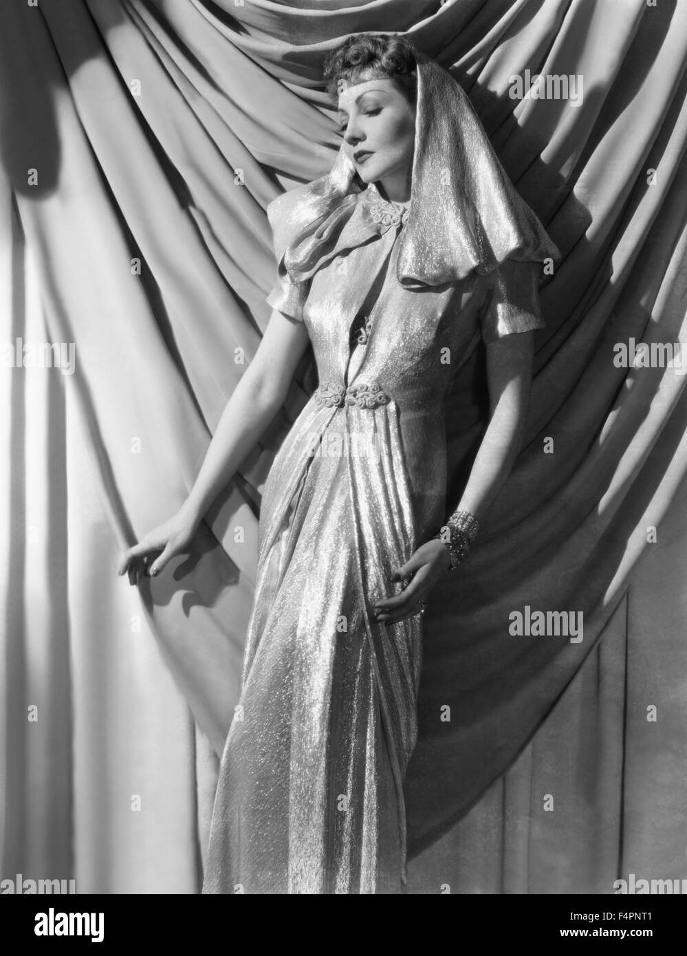 Claudette Colbert in the 30's [Paramount Pictures] - Stock Image