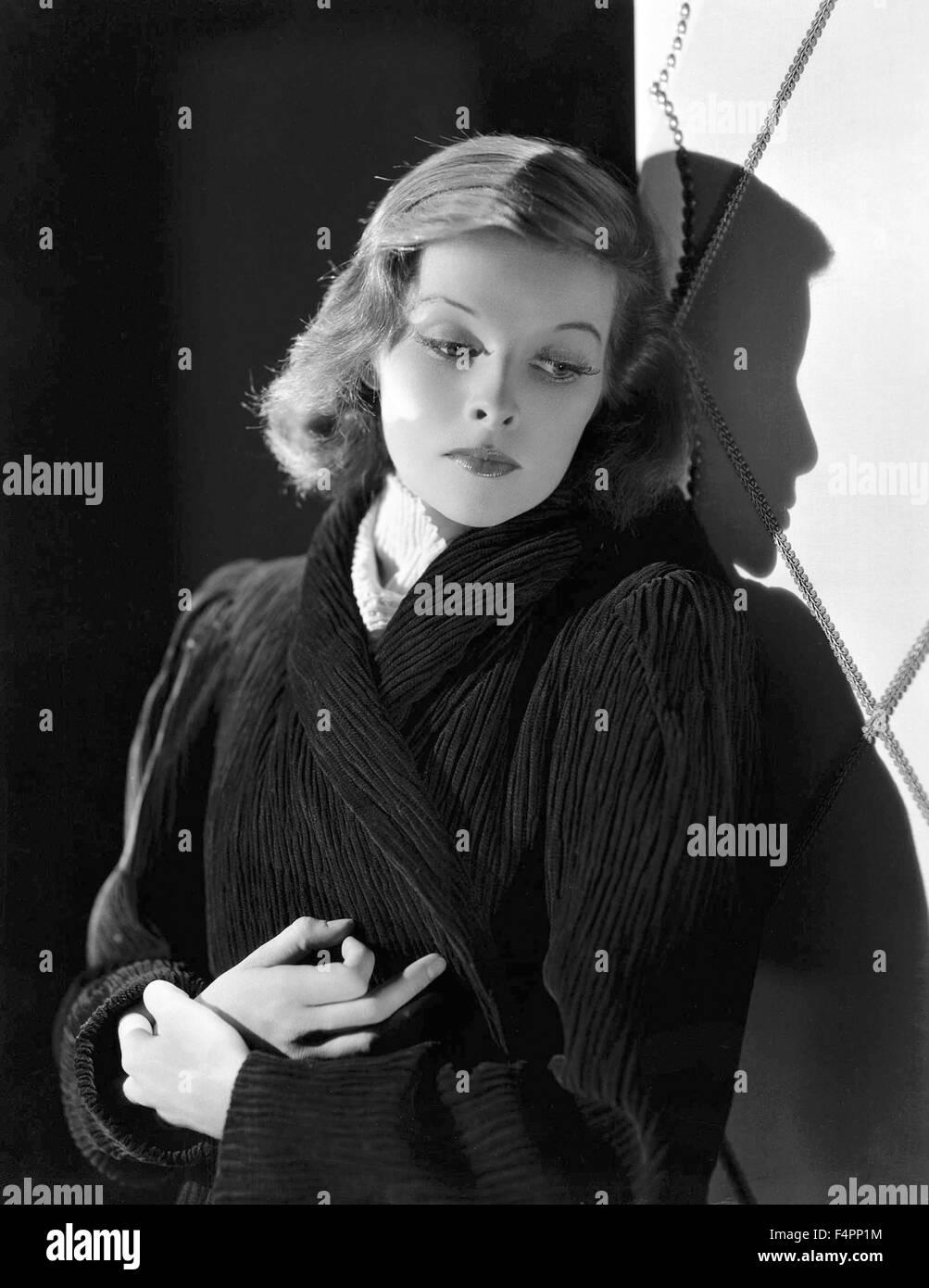 Katharine Hepburn in the 40's - Stock Image