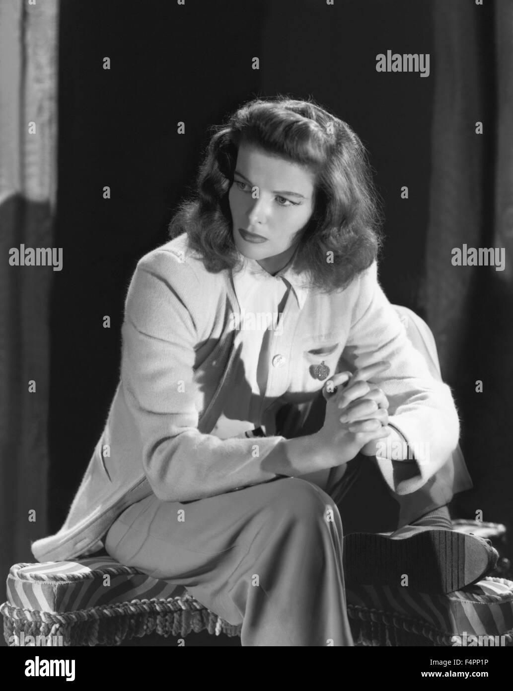 Katharine Hepburn in the 40's  [Metro-Goldwyn-Mayer Pictures] - Stock Image