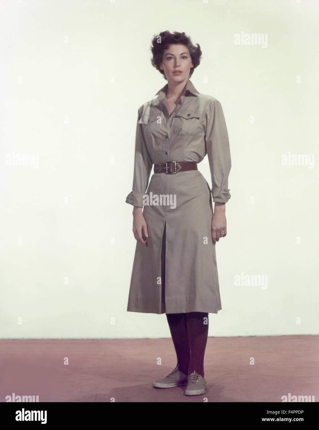 Ava Gardner / The Snows of Kilimanjaro / 1952 directed by Henry King [Twentieth Century Fox Film Corpo] - Stock Image