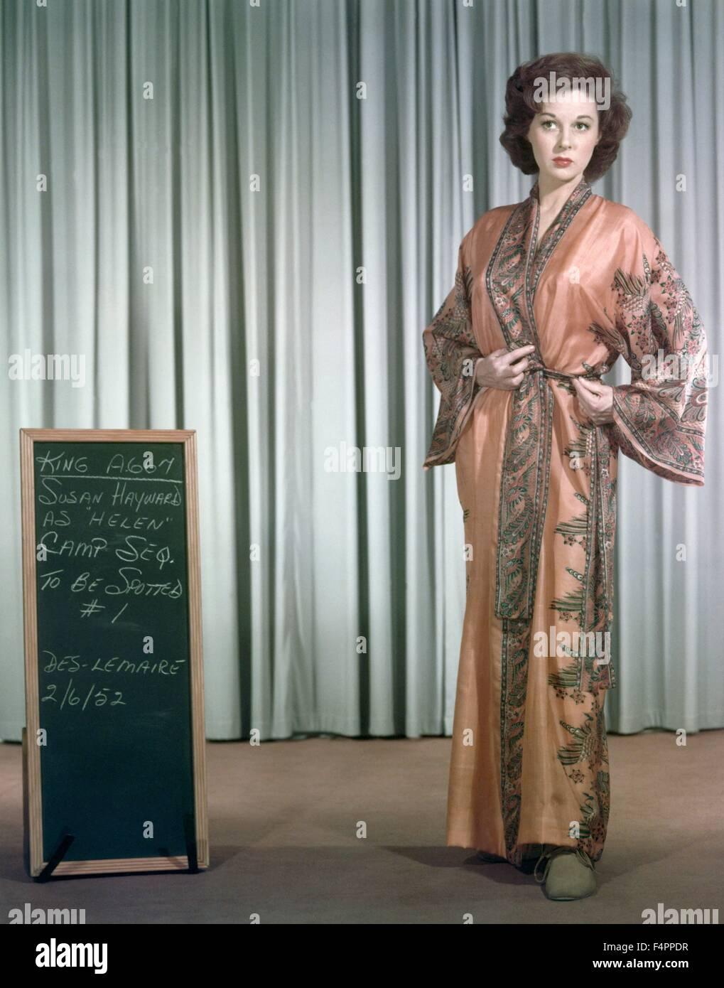 Susan Hayward / The Snows of Kilimanjaro / 1952 directed by Henry King [Twentieth Century Fox Film Corpo] - Stock Image