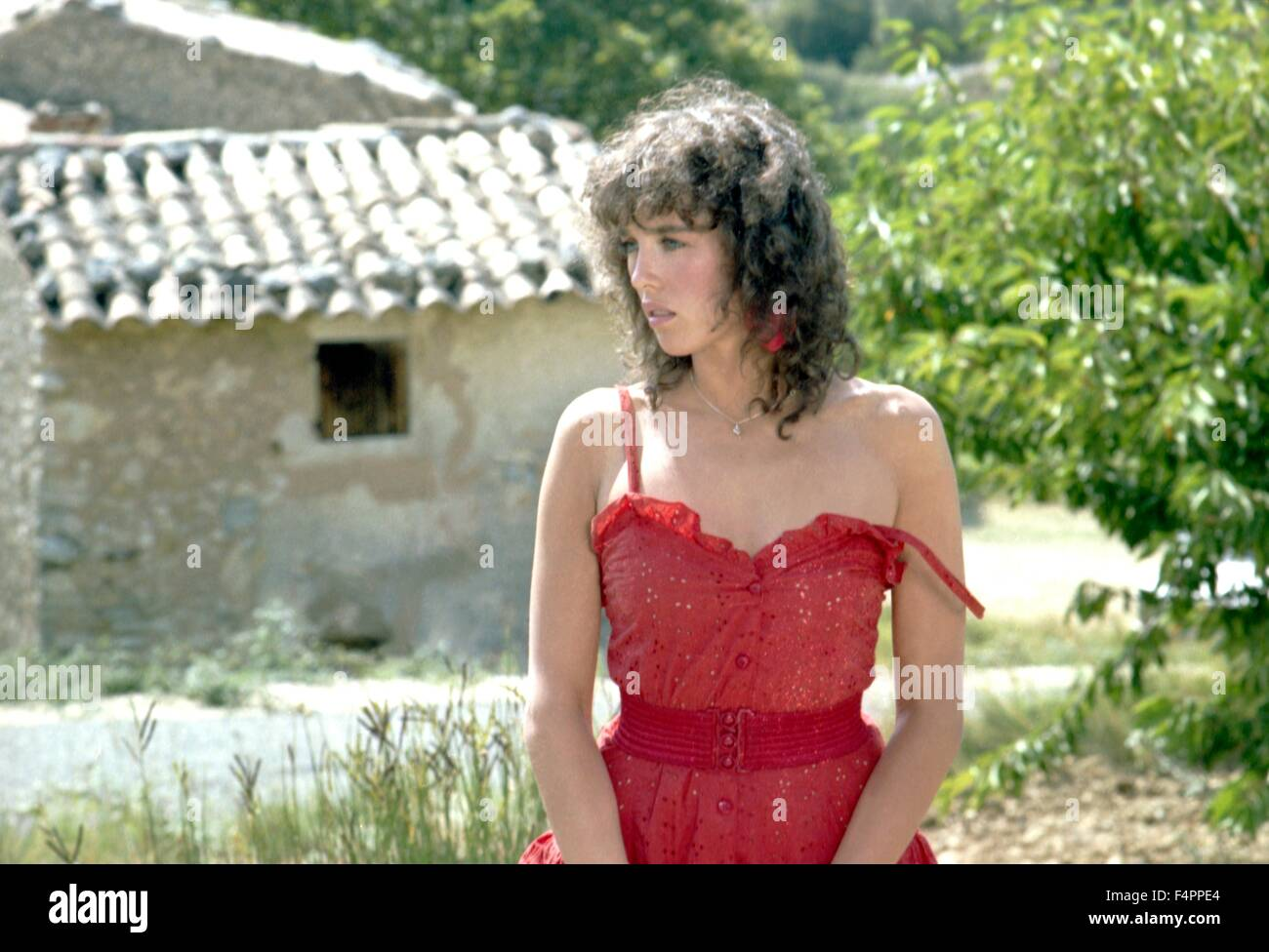 Isabelle Adjani / One Deadly Summer / 1983 directed by Jean Becker - Stock Image