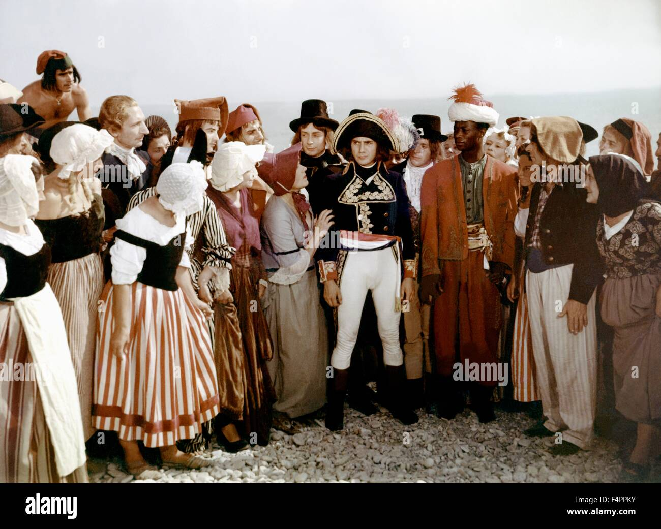Daniel Gelin / Napoleon / 1954 directed by Sacha Guitry - Stock Image