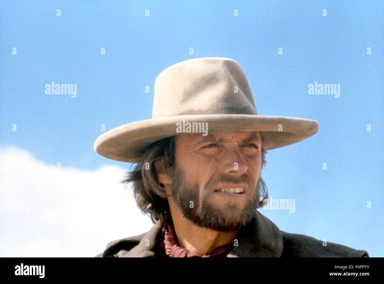 Clint Eastwood / The Outlaw Josey Wales / 1976 directed by Clint Eastwood  [Warner Bros. Pictures] - Stock Image