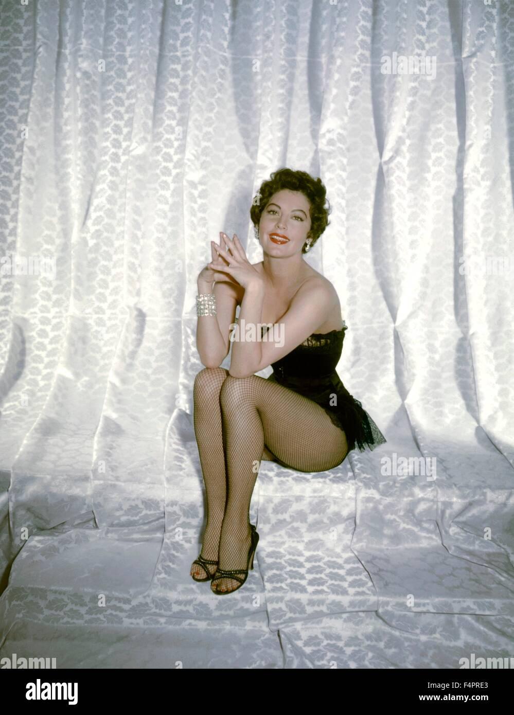 Ava Gardner in the 50's [Metro-Goldwyn-Mayer] - Stock Image
