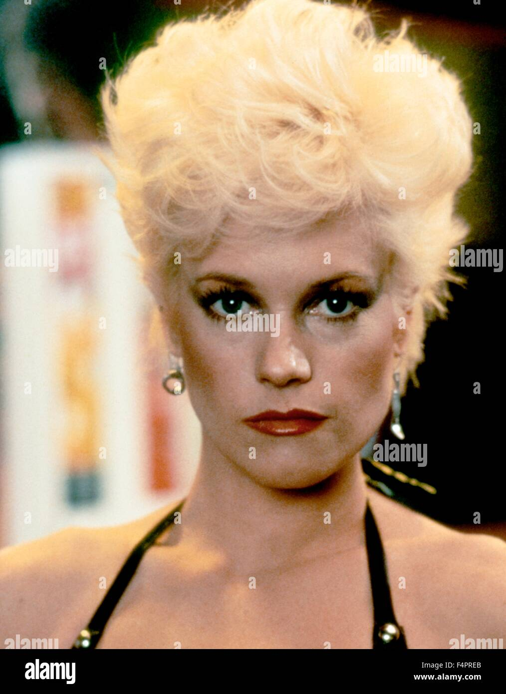 Melanie Griffith / Body Double / 1984 directed by Brian De Palma  [Columbia Pictures] - Stock Image