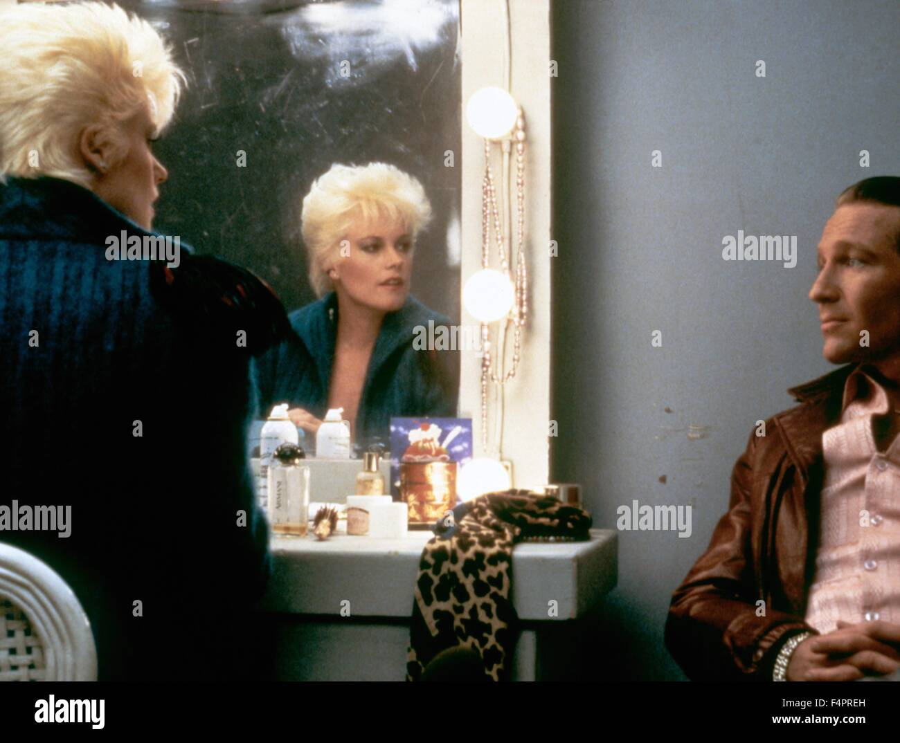 Melanie Griffith and Craig Wasson / Body Double / 1984 directed by Brian De Palma [Columbia Pictures] - Stock Image