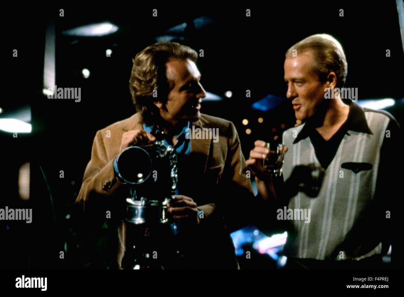 Craig Wasson and Gregg Henry / Body Double / 1984 directed by Brian De Palma [Columbia Pictures] - Stock Image