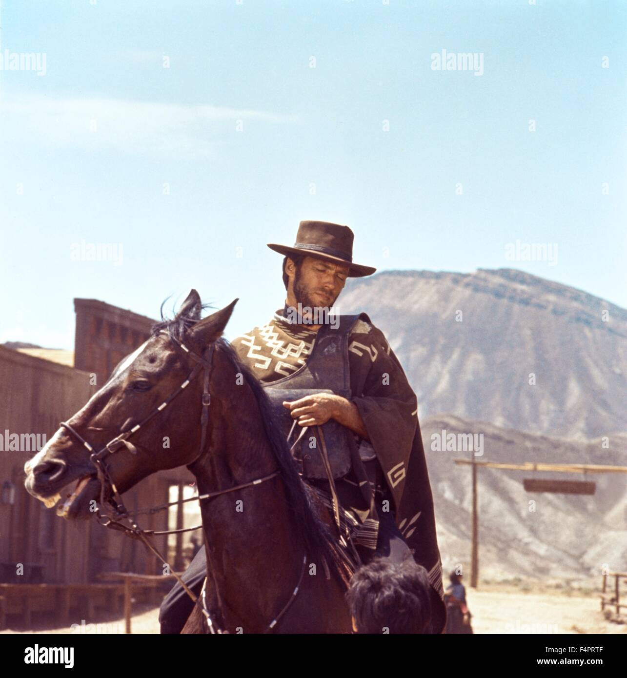 Per Qualche Dollari In Piu / For A Few Dollars More 1965 Directe / Clint Eastwood [United Artists] - Stock Image
