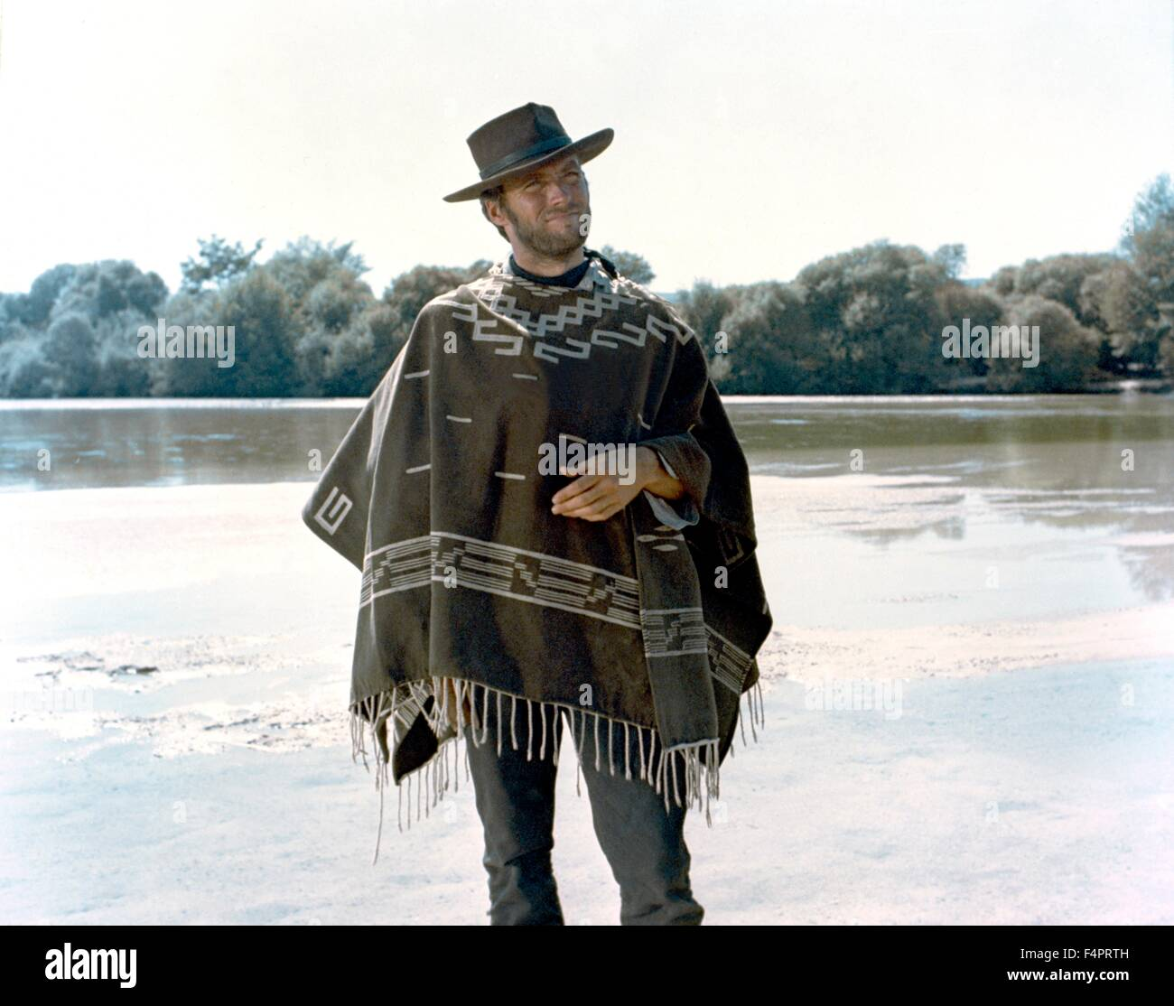 Clint Eastwood Poncho Stock Photos & Clint Eastwood Poncho