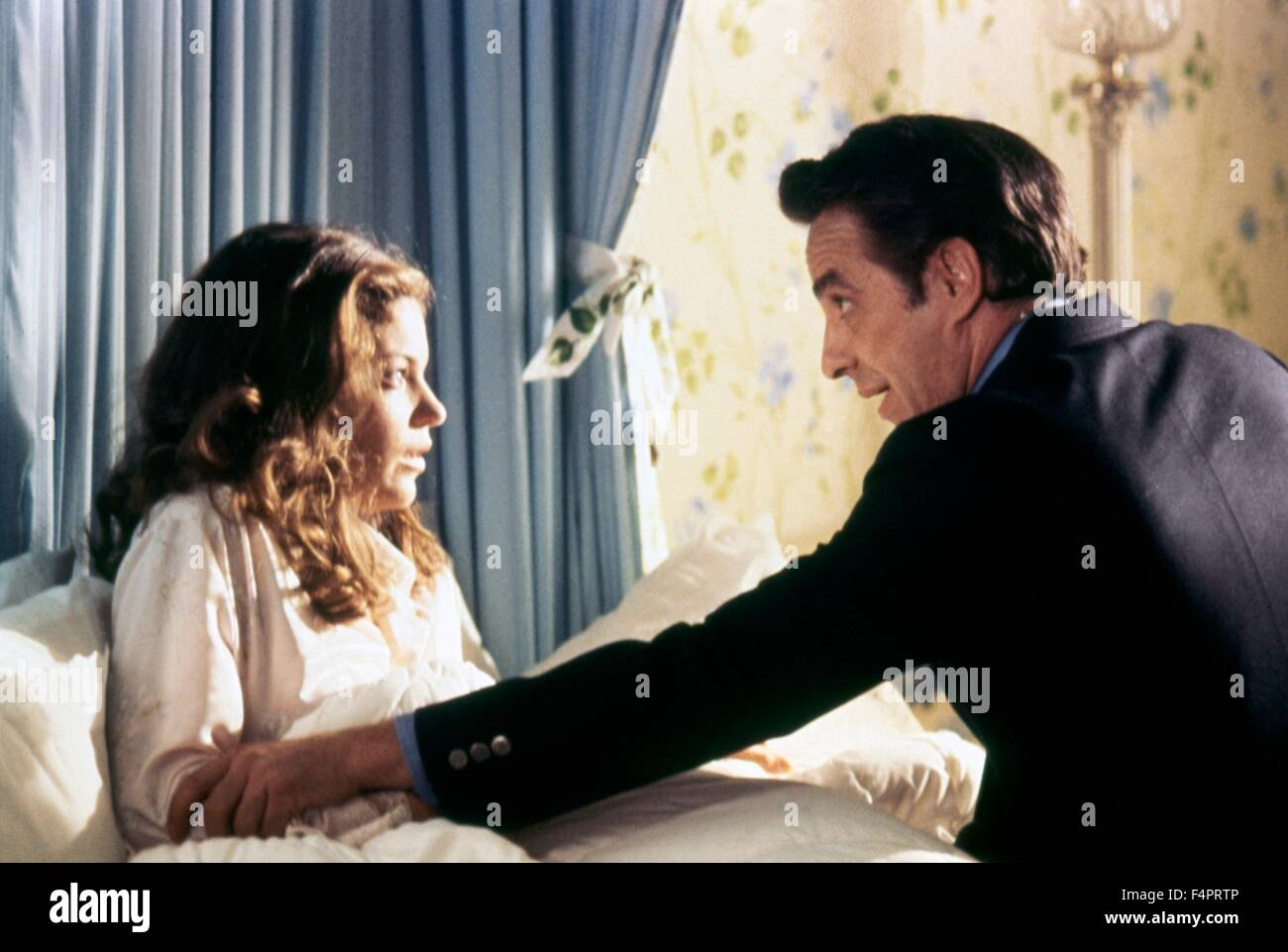 Amy Irving and John Cassavetes / The Fury / 1978 directed by Brian De Palma [Twentieth Century Fox Film Corpo] - Stock Image
