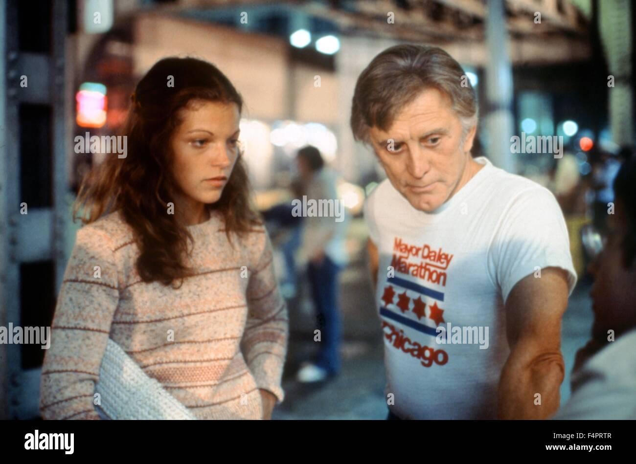 Amy Irving and Kirk Douglas / The Fury / 1978 directed by Brian De Palma [Twentieth Century Fox Film Corpo] - Stock Image