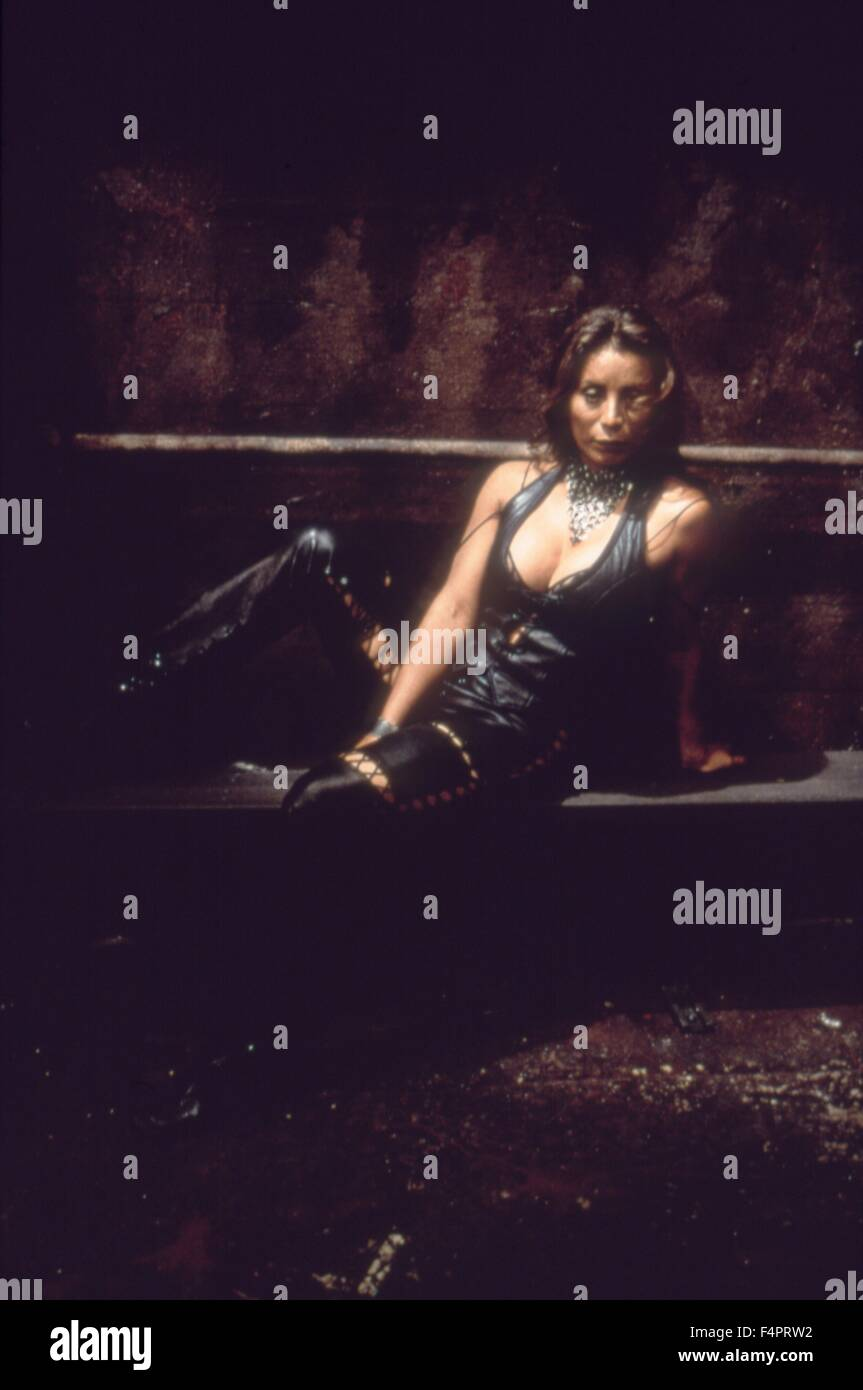 Pam Grier / Ghosts Of Mars / 2001 directed by John Carpenter  [Screen Gems / Sony Pictures] - Stock Image