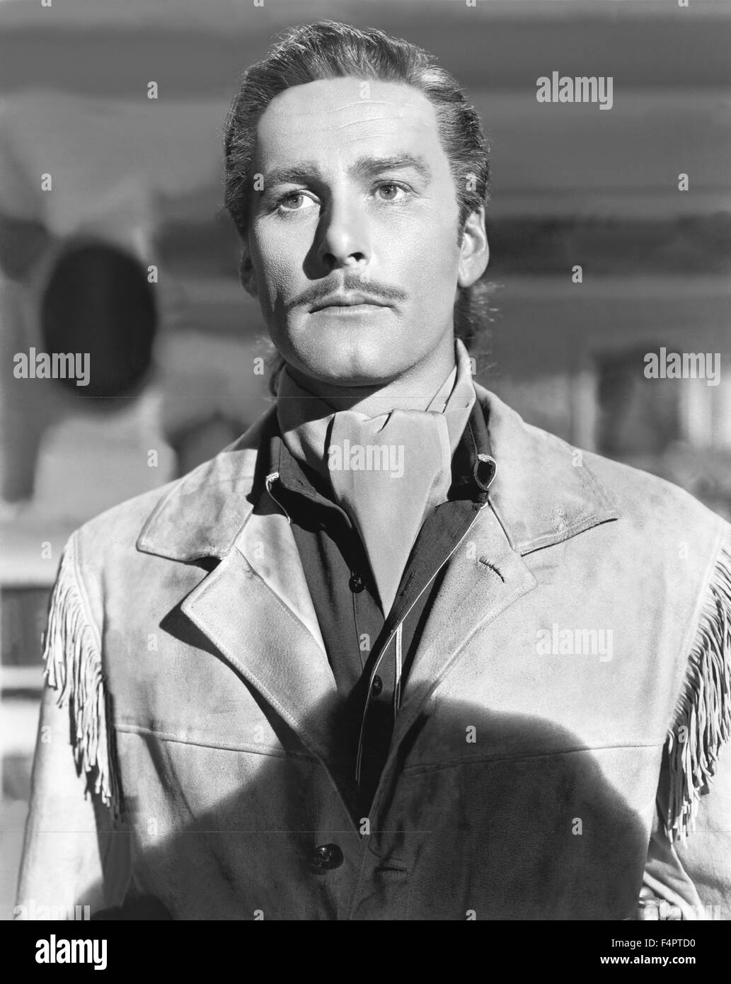 Errol flynn / They Died with Their Boots On / 1941 directed by Raoul Walsh  [Warner Bros. Pictures] - Stock Image