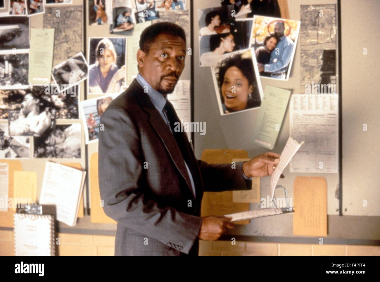 Morgan Freeman / Kiss the Girls / 1997 directed by Gary Fleder [Paramount Pictures] - Stock Image
