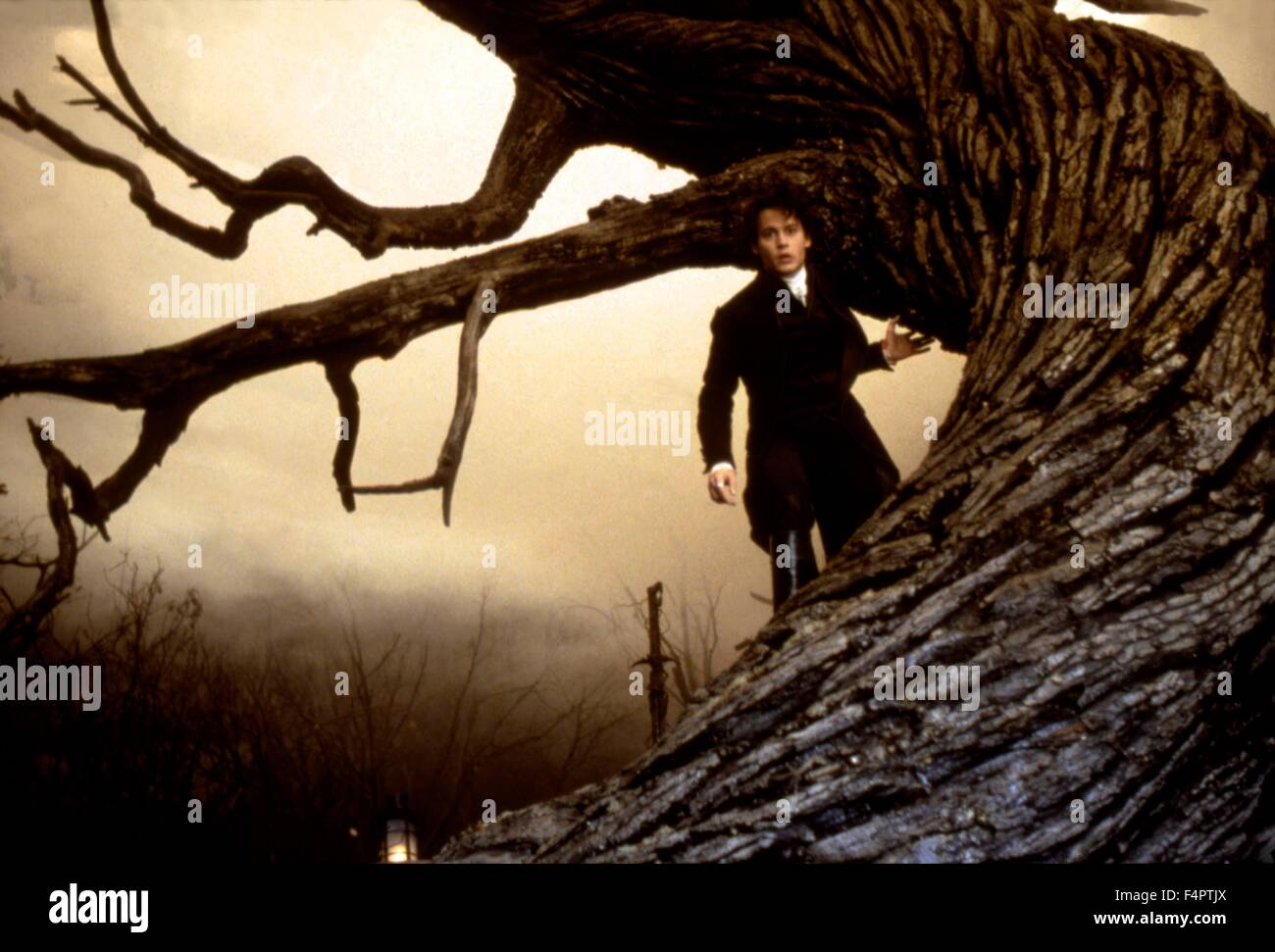 Johnny Depp / Sleepy Hollow / 1999 directed by Tim Burton [Paramount Pictures] Stock Photo
