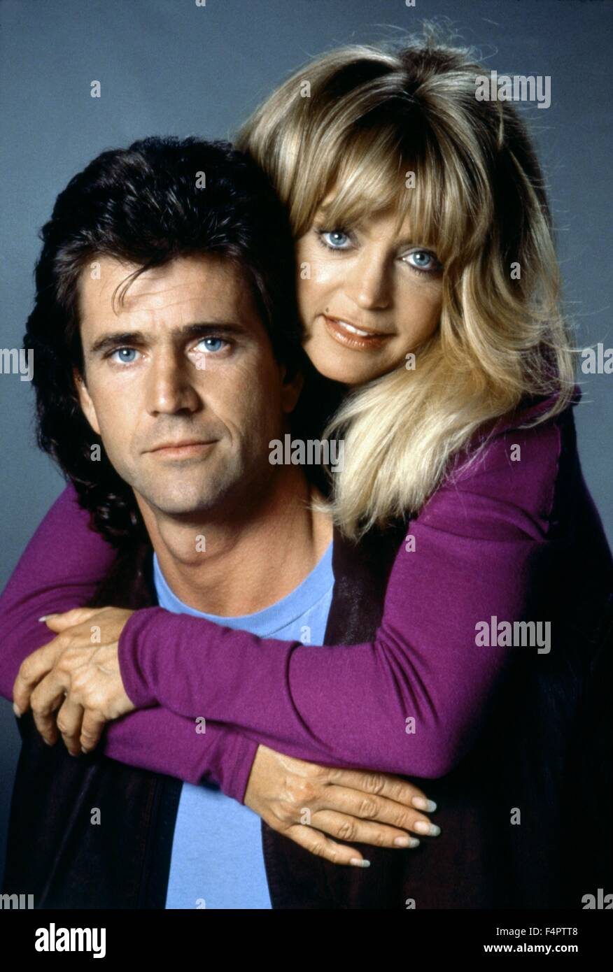 Mel Gibson and Goldie Hawn / Bird on a Wire / 1990 directed by John Badham [Universal Pictures] - Stock Image